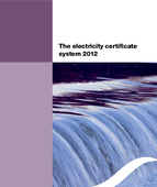The electricity certificate system 2012