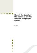 Knowledge base for the market in electric vehicles and plug-in hybrids